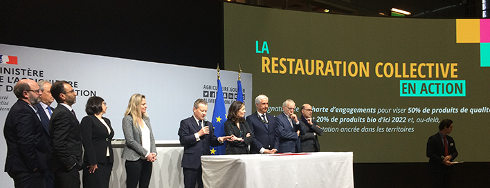 Les acteurs de la restauration collective s'engagent !